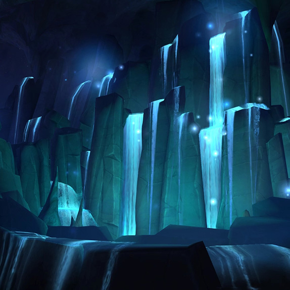 Shaman Class Hall Water Wallpaper Engine