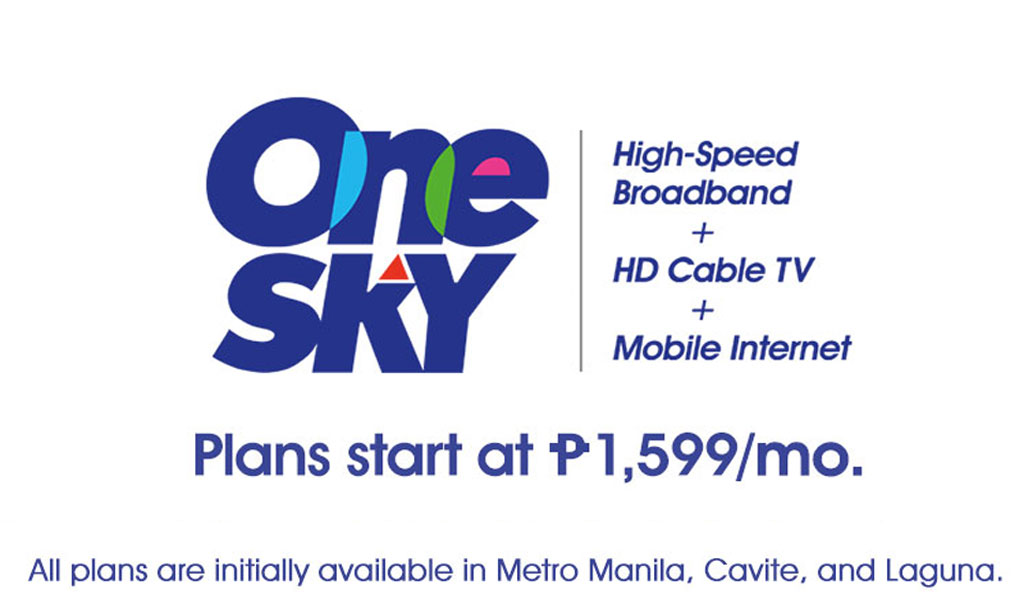 Introducing SKYcable One Sky Subscription Plans