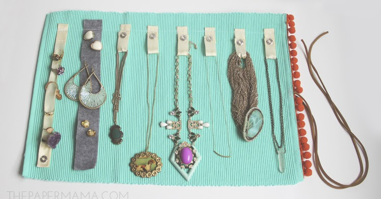 Make A Jewelry Roll From A Place Mat The Beading Gem S