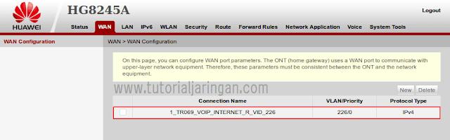 Cara Setting Multi SSID di Modem ONT Huawei HG8245A