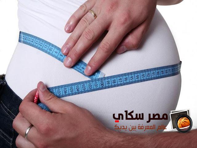 مشكلة زيادة الوزن والخطوط والتشققات فى البطن أثناء الحمل overweight