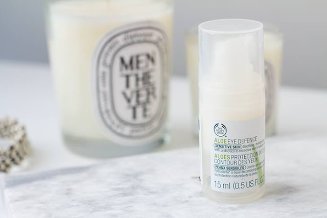 The body shop. Aloe Skin defence. Contorno de ojos.