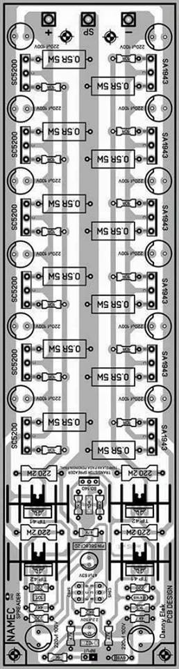 Power Amplifier Namec : pcb layout design electronic circuit ~ Russianpoet.info Haus und Dekorationen