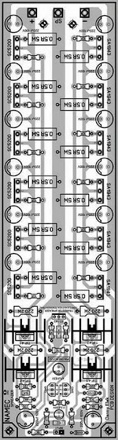 PCB Layout Design Namec Power Amplifier