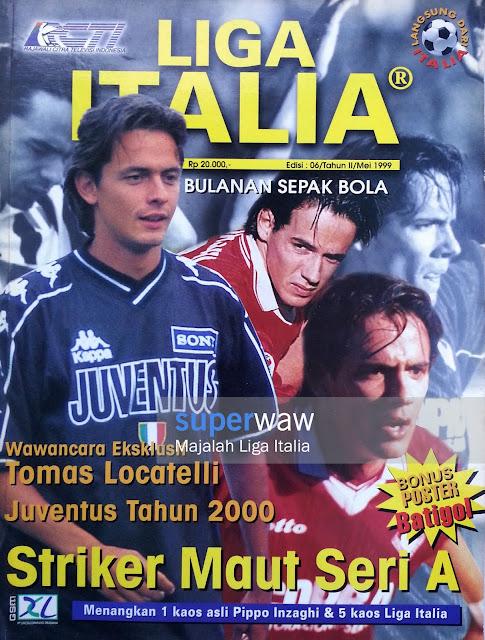 Majalah LIGA ITALIA (Striker Maut Seri A)