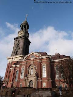 Sankt Michaelis Kirche Hamburg, Hamburger Michel, Hauptkirche Hamburg, Wahrzeichen von Hamburg
