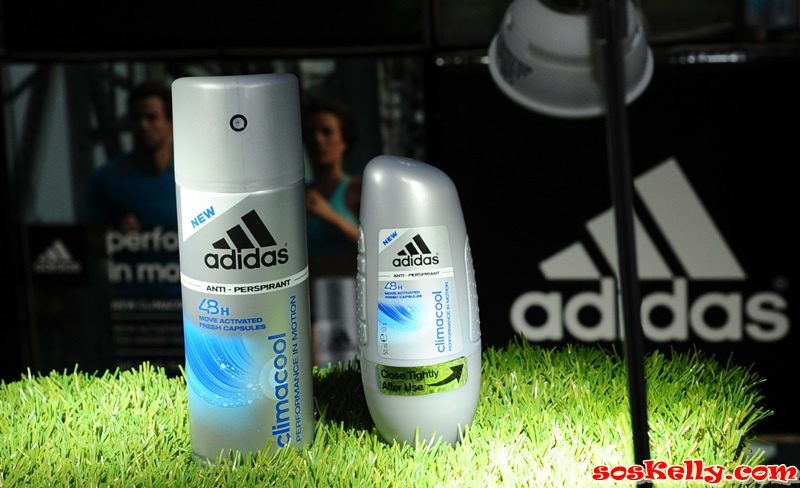 super popular 92794 bb79c SOS Kelly: adidas ClimaCool Anti-Perspirant, Performance in ...