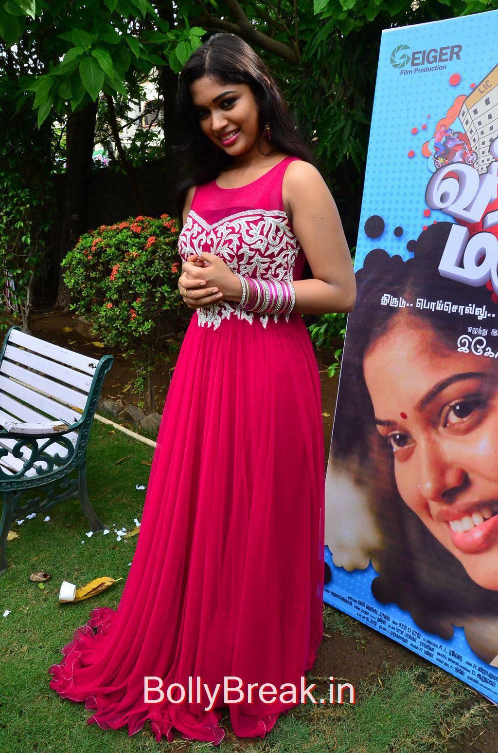 Priyanka Stills, Priyanka Hot Pics from Vandha Mala Movie Press Meet