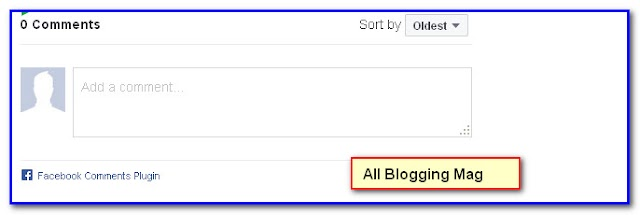 How to Add Facebook Comment box with Thumbnail without FB Application Code in blogger
