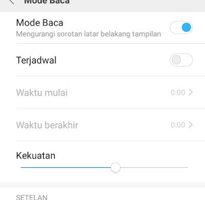 Mode Malam Pada Semua Tipe Xiaomi