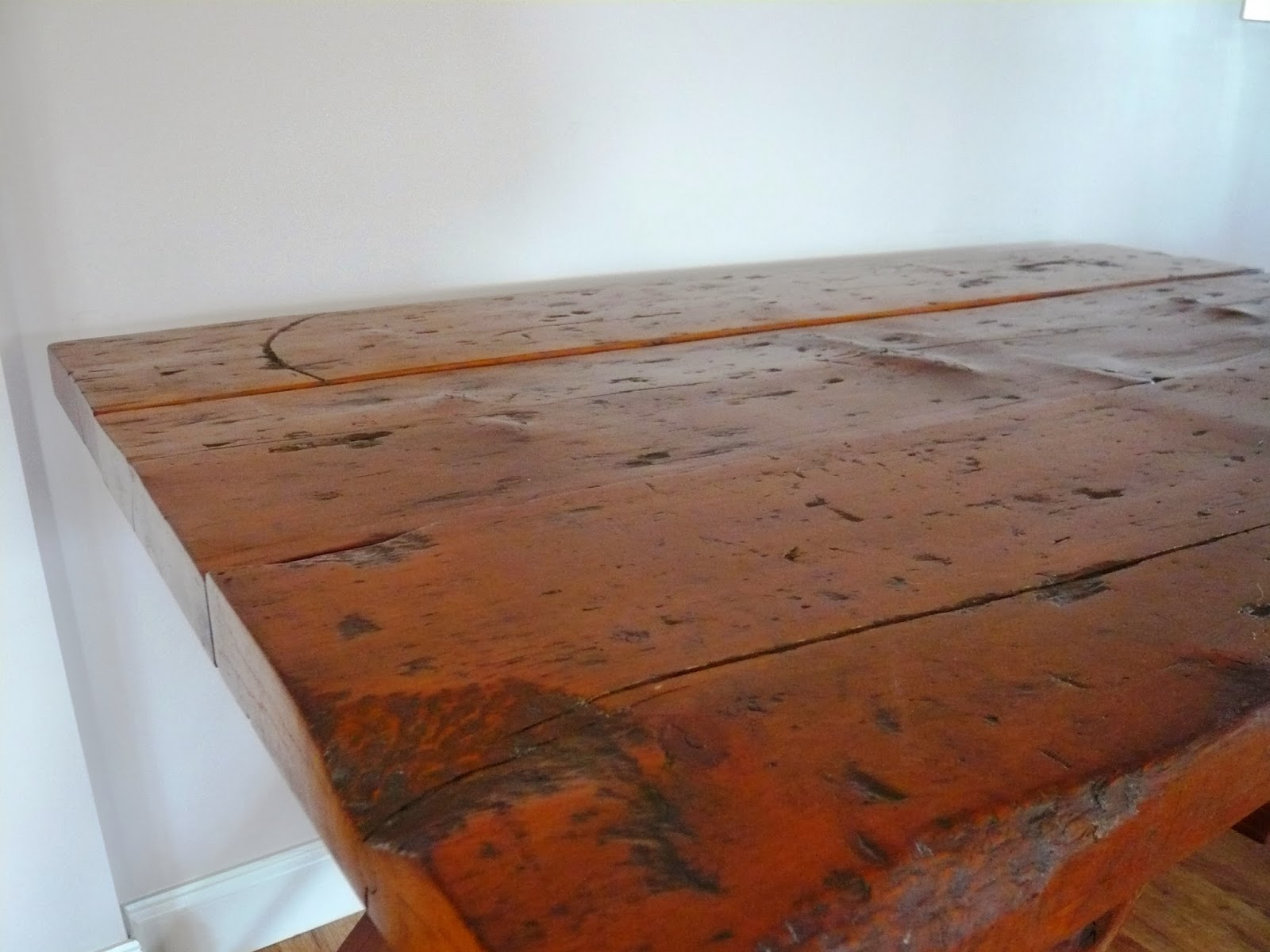 Thick Wood Kitchen Table