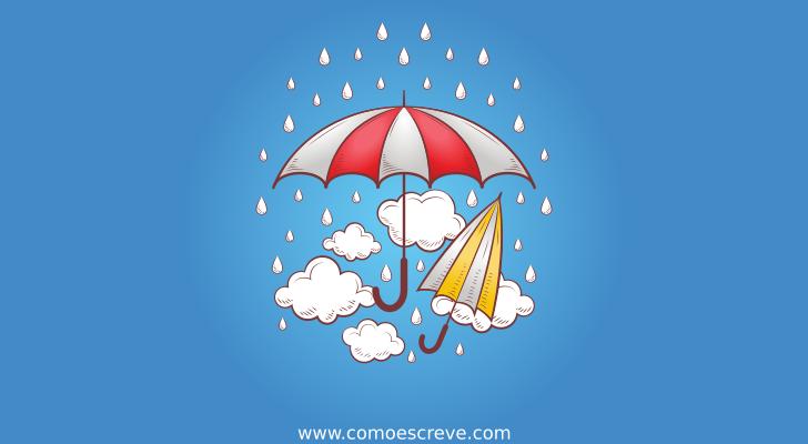 Como se escreve o plural de guarda-chuva?