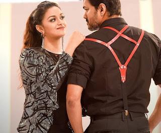 Keerthy Suresh with Vijay in Sarkar