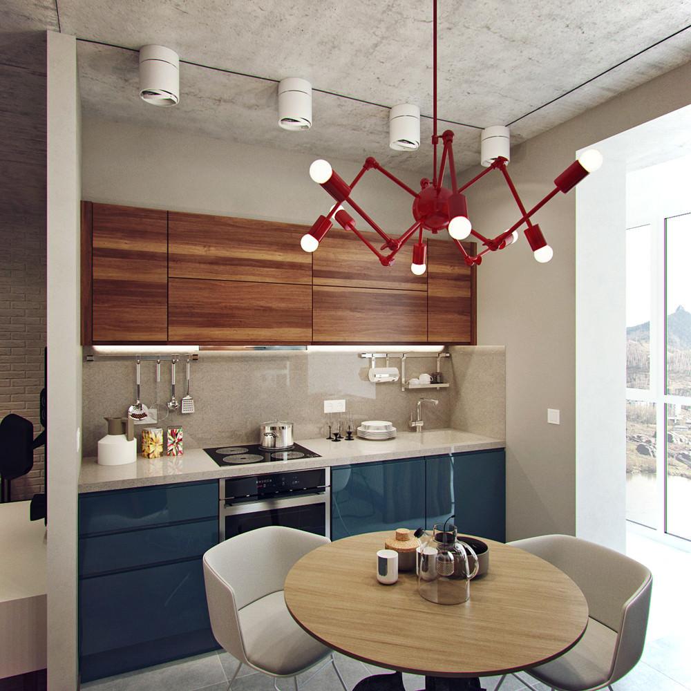 Lustre Para Cozinha Moderna Dcloud Edison Moderno Lustre De Ferro