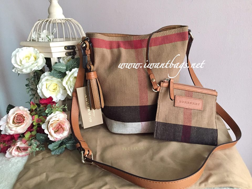 c580e5b2e96d Burberry Mini Ashby Crossbody Bag-Saddle Brown