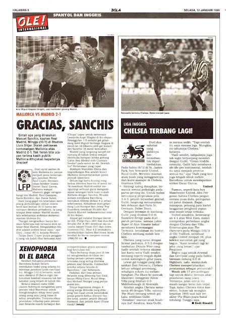 MALLORCA VS MADRID 2-1 GRACIAS, SANCHIS