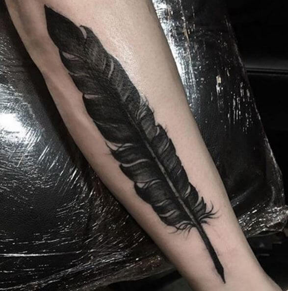 Feather quill Tattoo