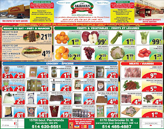 Akhavan Supermarche Weekly Flyer January 17 – 23, 2018