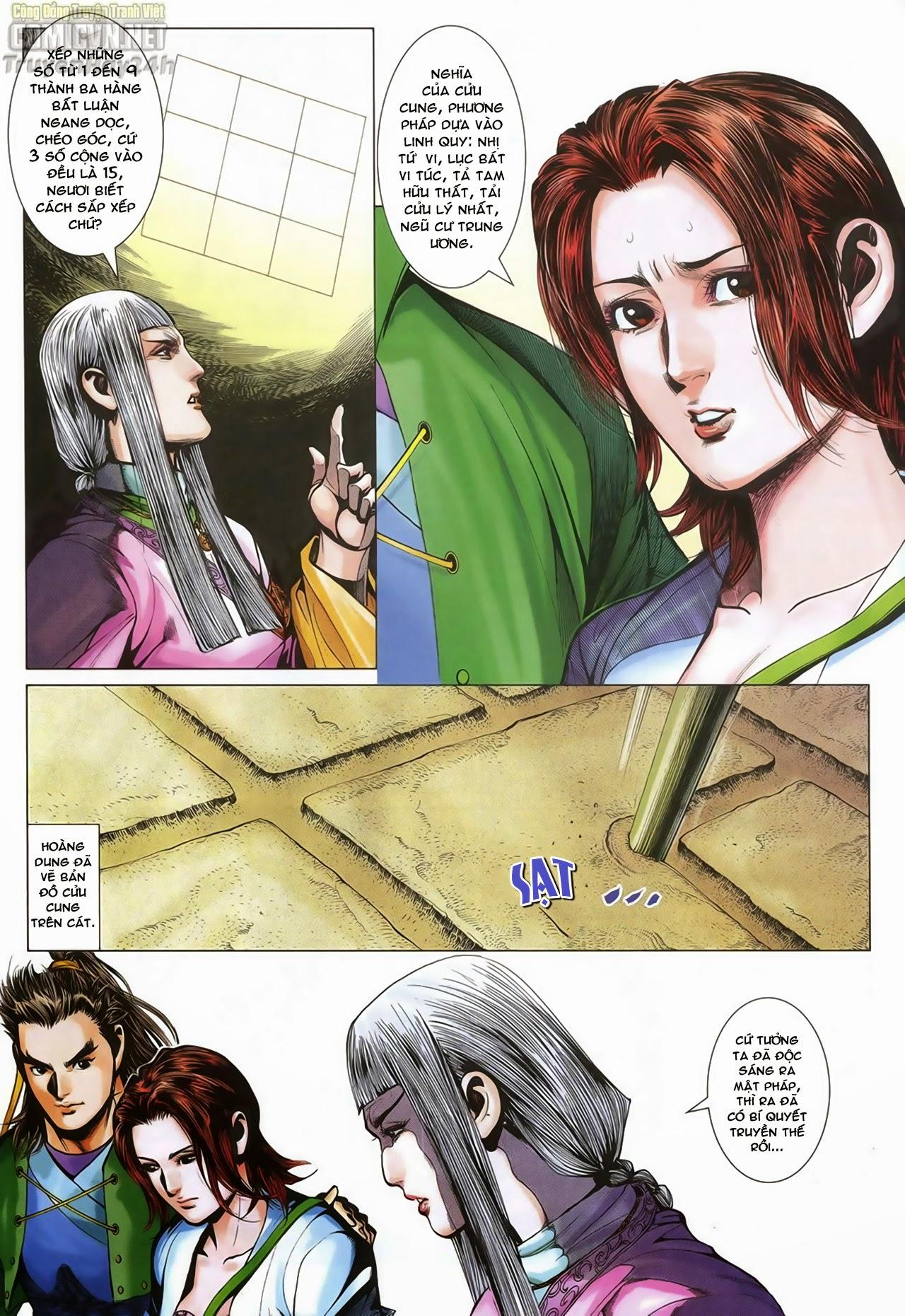 Anh Hùng Xạ Điêu anh hùng xạ đêu chap 70: hắc chiểu ẩn nữ trang 18