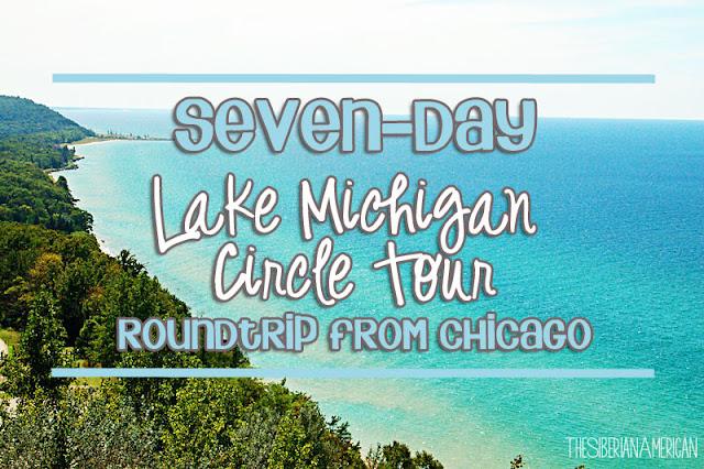 seven day round trip around lake michigan