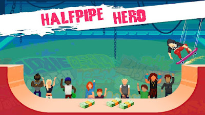 Review Game Halfpipe Hero, Game Addict Skateboard