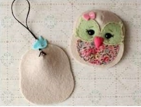 Simple Owl Keyholder