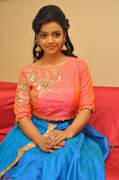 Nithya Shetty in Orange Choli at Kalamandir Foundation 7th anniversary Celebrations ~  Actress Galleries 095.JPG