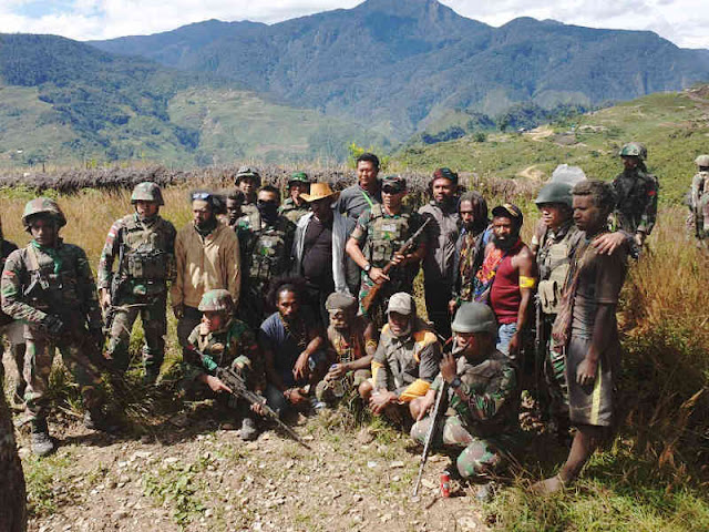 Merasa Ditipu Goliat Tabuni, Telangga Gire di Kabupaten Puncak Kembali NKRI