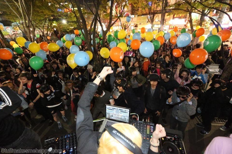 7. Silent Disco, Norita Park, Hongdae