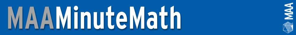MAA MinuteMath