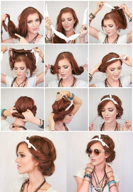 Los Mejores Peinados Sencillos Paso A Paso Peinados Faciles