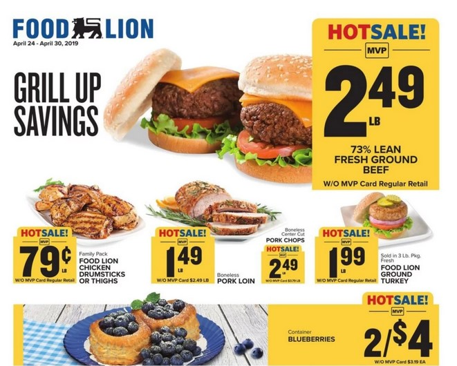 Food Lion Weekly Ad April 24 - 30, 2019 - Coupons and Deals