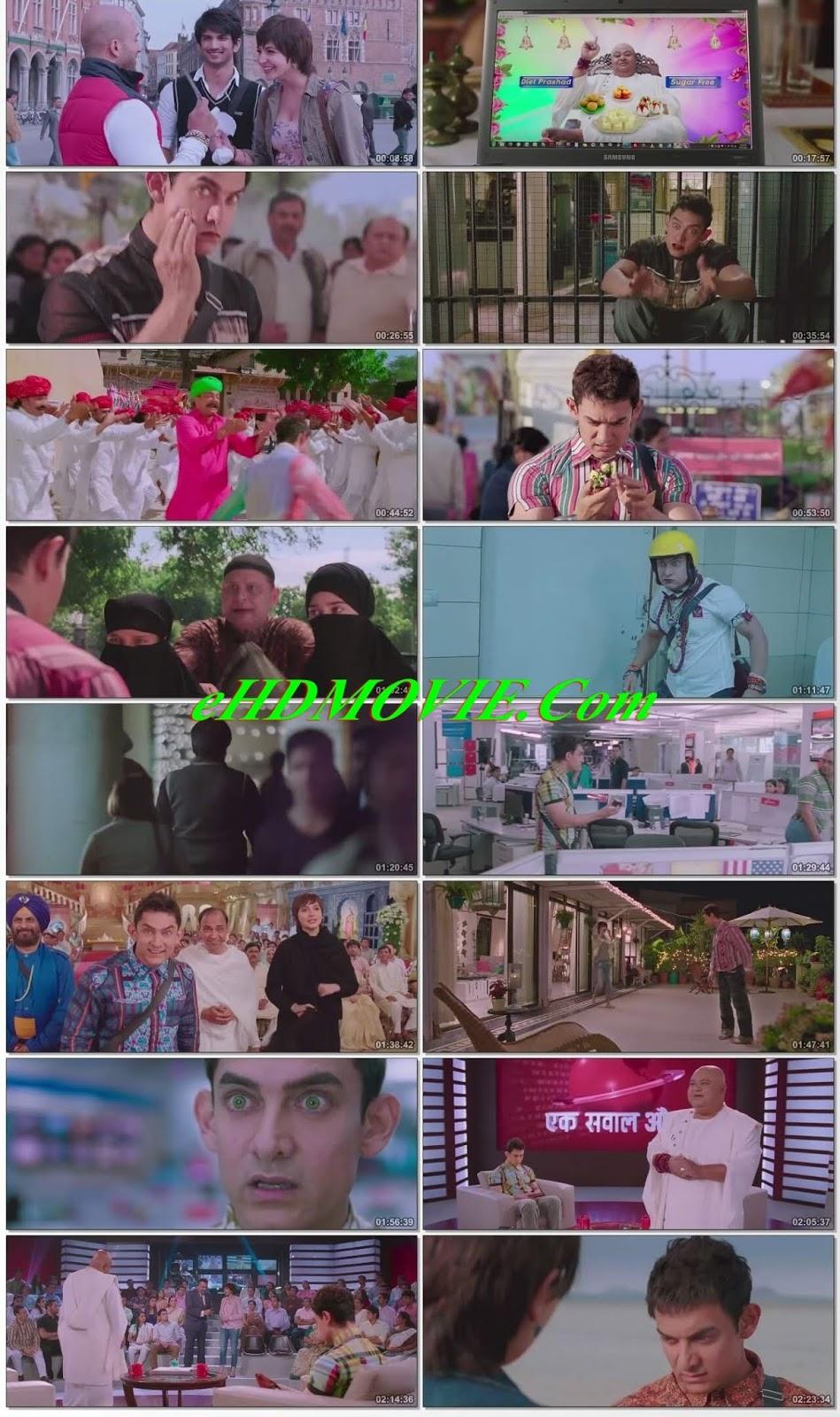 PK 2014 Hindi 720p BRRip 500MB HEVC ESubs