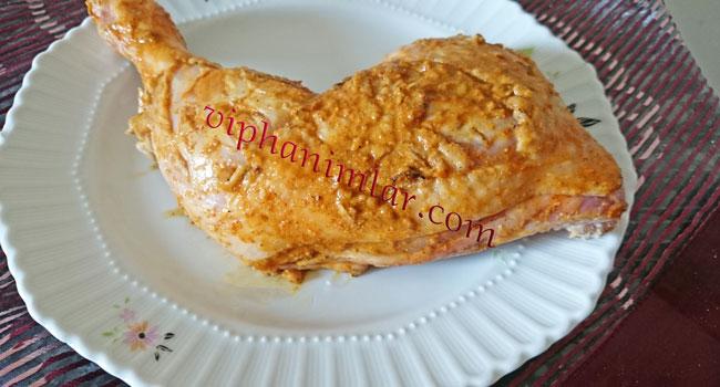 Tavuk budu soslanır