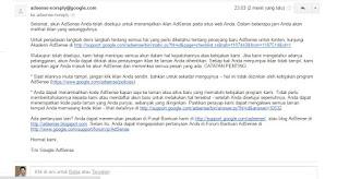 email full approve adsense flyin dvb
