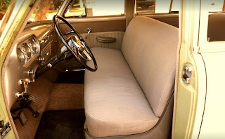 1951 Packard 300 Classic Sedan Seat Front