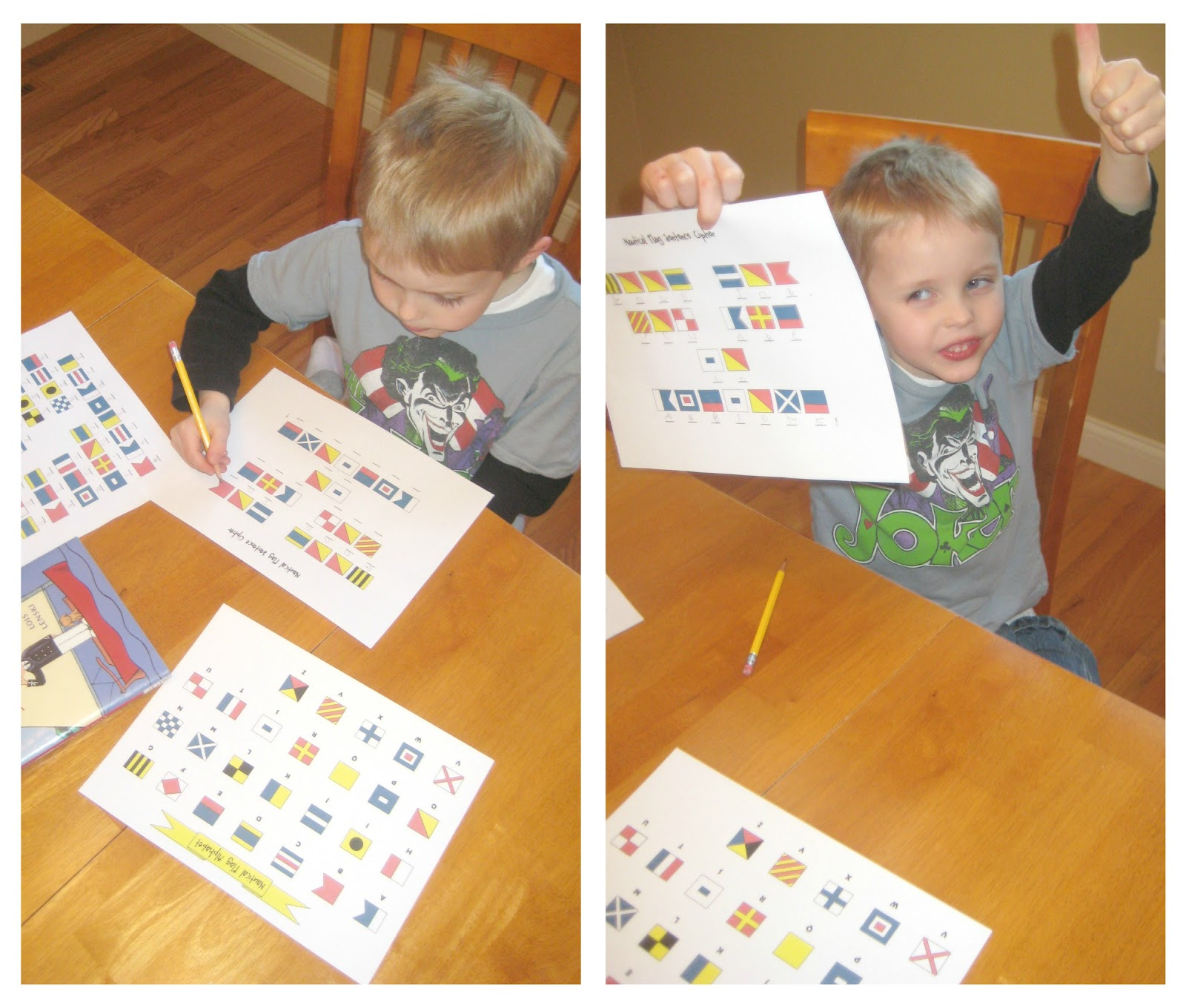 Relentlessly Fun Deceptively Educational Spelling Practice With Nautical Flags