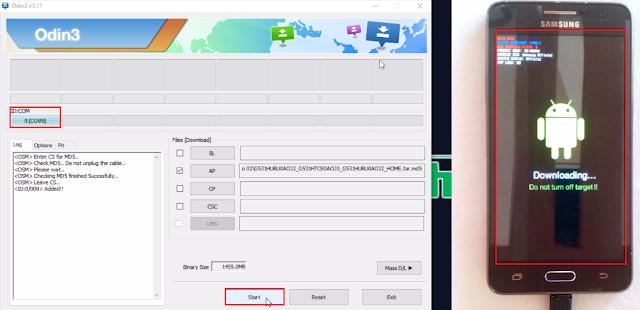 modo download samsung