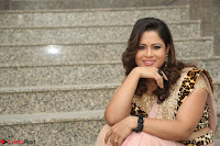 Shilpa Chakravarthy in Lovely Designer Pink Saree with Cat Print Pallu 038.JPG