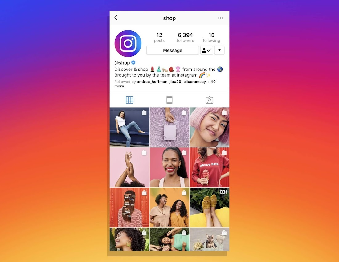Instagram creates @shop page to boost interest in shoppable goods