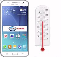 Samsung Galaxy j7 model telefonlarda ısınma sorunu