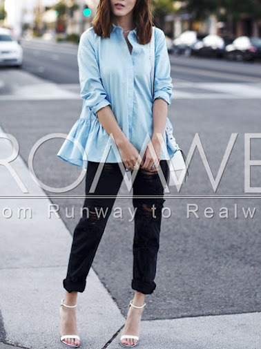 es.romwe.com/Blue-Long-Sleeve-Lapel-Ruffle-Blouse-p-140505-cat-670.html?utm_source=simply2wear.com&utm_medium=blogger&url_from=simply2wear