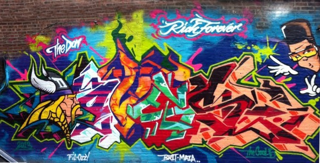 Gambar Grafiti Untuk Tembok Kamar