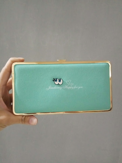 Jims Honey Abbey Wallet warna tosca