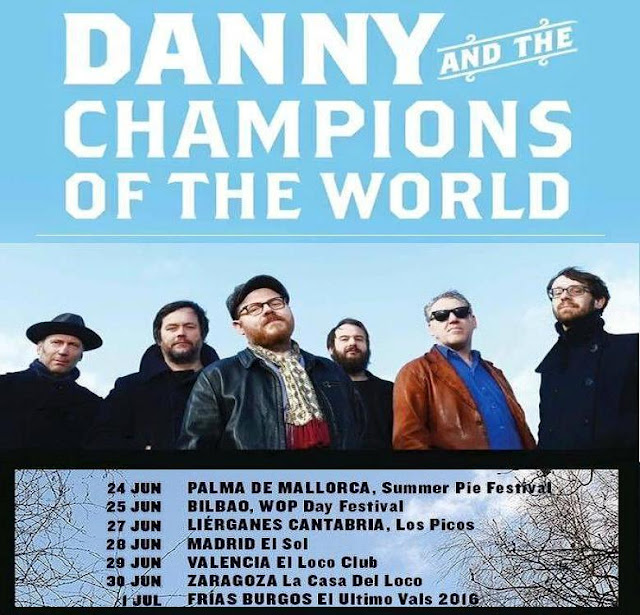 Gira Danny & The Champions of The World