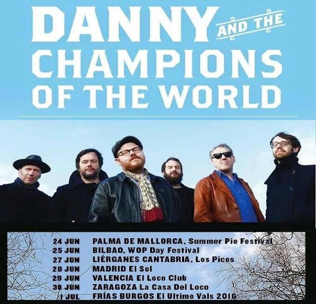 Gira Danny & The Champions of The World