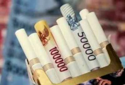 harga rokok Rp 50 ribu per bungkus