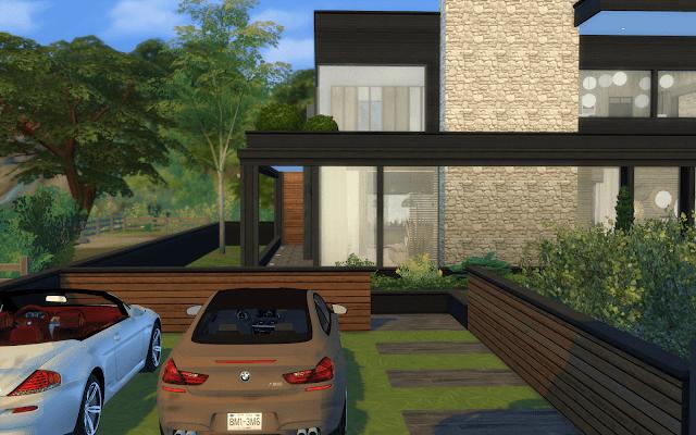 Télécharger maison luxe Sims 4
