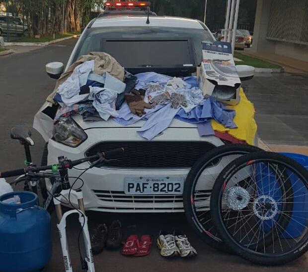 PMDF encontra produtos de furto em carro clonado após perseguição em Ceilândia