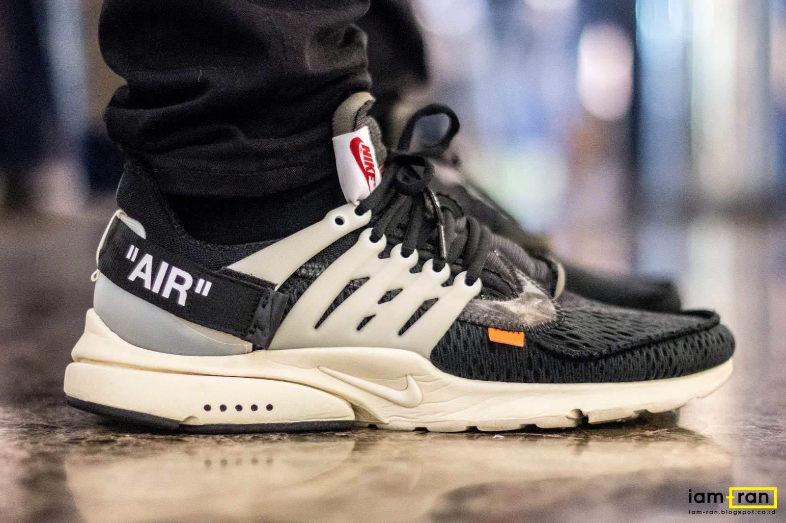 separation shoes 58fdb 760f0 James on feet. Sneakers   Nike Air Presto x Off White